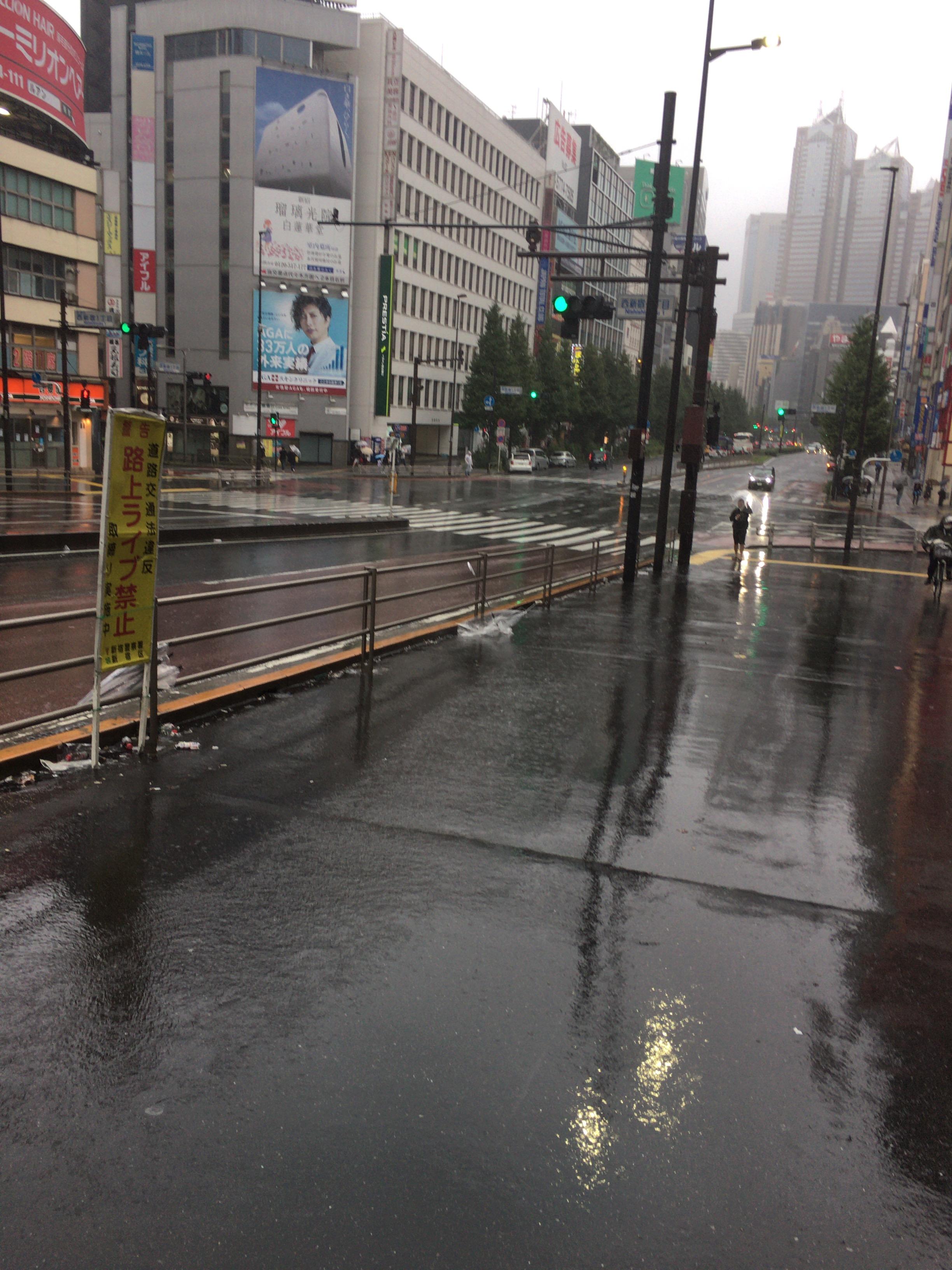 新宿駅調査